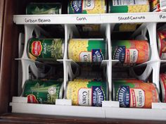 soda racks for cans