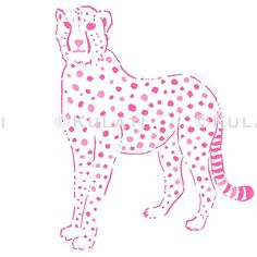 INSTANT DOWNLOAD (no physical items sent) - preppy pink leopard clipart - perfect for making your own cards, gift tags, clothing, invitations, scrapbooks, planner stickers etc.  1 high quality PNG file (300 ppi). IF YOU WOULD LIKE TO USE THIS FOR COMMERCIAL USE, SEE BELOW. This item cannot be