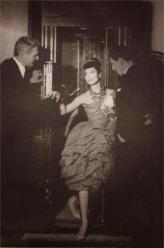 China Machado twirls in Dior