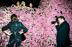 Alexa Chung, Vogue's Lauren Santo Domingo, Poppy Delevingne, and Joe Schildhorn