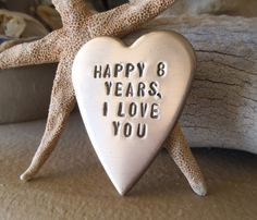 Bronze Gift for Him Eighth Anniversary 8th by CandTCustomLures, $22.00