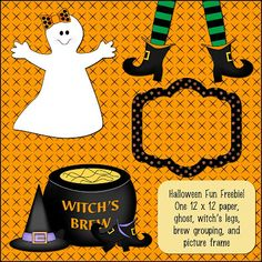 Sher's Creative Space: FREEBIE - Mini Scrapbooking Kit for Halloween