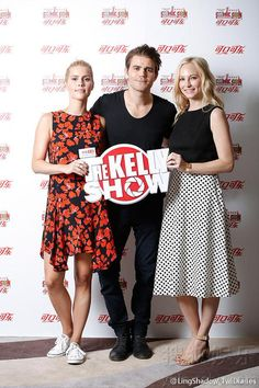 Candice Accola / Claire Holt / Paul Wesley