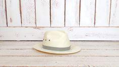 On sale 15% off - Vintage tan natural straw summer Scala fedora hat/cigar straw fedora hat/medium by GreenCanyonTradingCo on Etsy