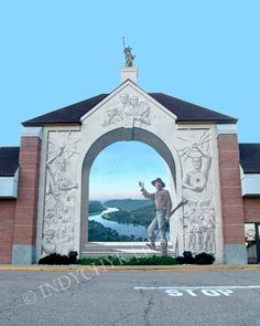 Gateway To Steubenville Mural Steubenville Ohio - Art Photography. $20.00, via Etsy.
