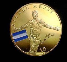 Gedenkmünze Lionel Messi, FC Barcelona, Berühmte Fußballstars, vernickelt DSH http://www.amazon.de/dp/B01AIV3X0E/ref=cm_sw_r_pi_dp_NvyLwb1SW6DER