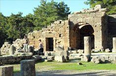 Lyrbe (Seleukeia) Antik Kent  -Antalya