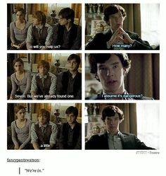 Sherlock/Potter, the crossover!❤❤❤❤