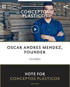 Apoyanos con tu voto y ayudanos a cambiar la manera de...