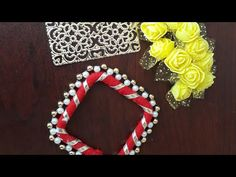 A very easy and attractive Shubh labh decoration ideas for diwali Diwali Decoration Items, Thali Decoration Ideas, Handmade Decorations, Door Hanging Decorations, Diy Birthday Decorations, Festival Decorations, Cute Diy Room Decor, Wall Decor Crafts, Cd Crafts