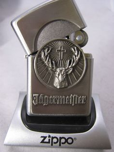 Jager Lighter | Rare Zippo Lighters available @ Ice Cube #Chandigarh