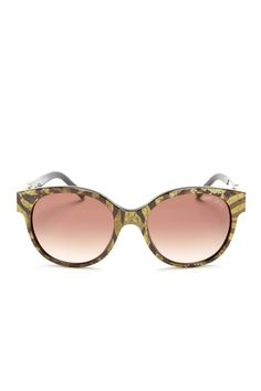 aa4b085e32 Jimmy Choo Women s Zebra Brown Sunglasses! These are fun and say Jimmy Choo  on the. Ray Ban ...
