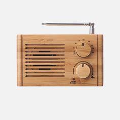 Easipeasi - Bamboo Radio Battery Operated, Telescope, Bamboo, Led, Awesome Things, Vintage, Decor Ideas, Vintage Comics, Telescope Craft