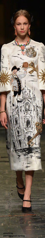 Dolce & Gabbana Alta Moda Spring 2016