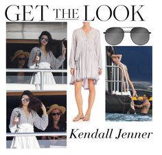 """""""Kendall Jenner With Harry Styles Yacht in St. Barts January 1 2016"""" by valenlss ❤ liked on Polyvore featuring Zimmermann"""