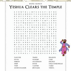 Bible Worksheets for Kids: Free biblical resources for families ...