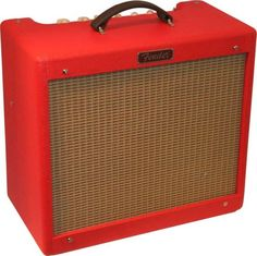 Fender Hot Rod Blues Junior 15W 1x12 Tube Guitar Combo Amp Texas Red