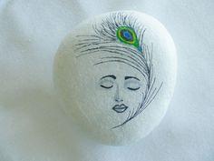 natural white pebbles
