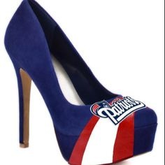 HERSTAR™ Women's New England Patriots Suede Pumps...