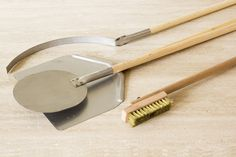 Wood-Fired Pizza Oven Tool Set 1