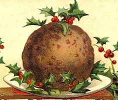 The history of both savoury and sweet Christmas puddings from Medieval times to present.