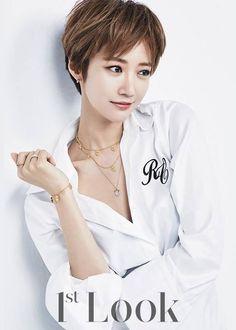 Go Jun Hee shows her sexiness for 1st Look - Latest K-pop News - K-pop News | Daily K Pop News