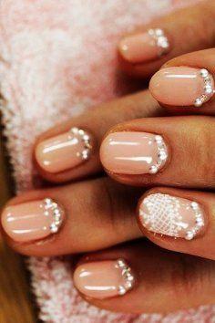 Creative and Unique Wedding Nail Design