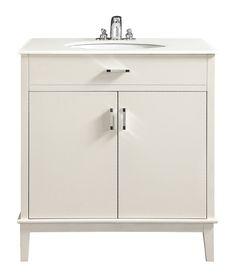 """Urban Loft 31"""" Single Bathroom Vanity Set"""