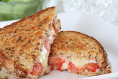 Sandwich Recipe: Gourmet Tomato & Mozzarella Garlic Grilled Cheese