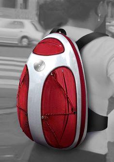 Exoskeleton Backpack for IDI - Innovazione Design Italia by Integral Studio Vinaccia