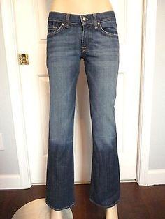 DPD Deluxe Premium Denim Women's Lowrise Slim Bootcut Jeans Size 27 X 32