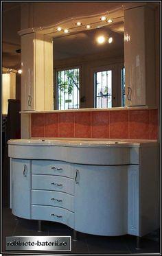 Mobilier baie curbat Grenoble 150 cm Decor, Furniture, Table, Kitchen, Home, Home Decor
