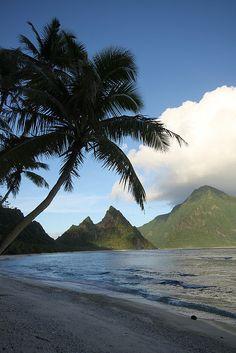 Ofu & Olosega Island in Manu'atele, American Samoa