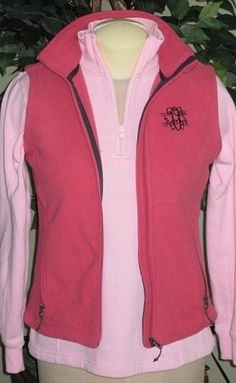 Marley Lilly Monogrammed Vest