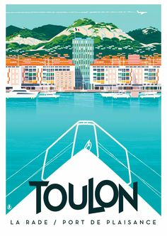 Monsieur Z Retro Posters, Vintage Travel Posters, Ice Houses, Tourism Poster, Europe, Camping, Illustrations, Graphic Design, Stickers