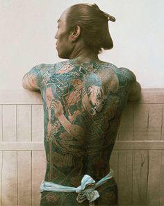 $歪んだものほど美しい-A tattooed man 1881