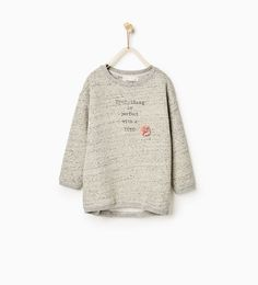 Tutu appliqué sweatshirt-DRESSES AND JUMPSUITS-Girl-Kids | 4-14 years-KIDS | ZARA United States