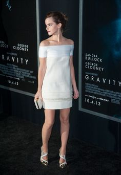 In J. Mendel at the Gravity premiere in New York in 2013. See all of Emma Watson's best looks.