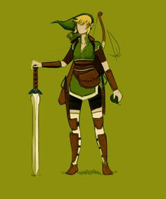 Female Link by kaniphish