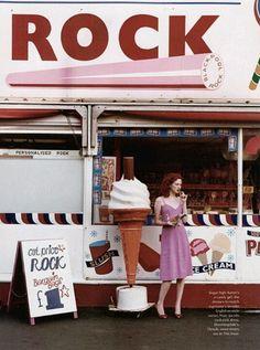 ice cream stands!