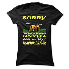 Sorry this girl is taken by a smart & sexy tractor driver  #tractor #tshirts #menswear