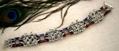 Alexandra  Swarovski Crystal and Aluminum by EclecticArtbyCynthia, $60.00