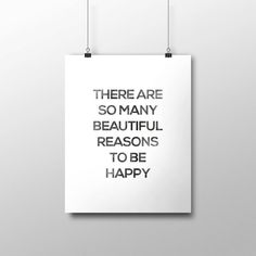 Printable Art Typography Poster There Are So by curlybracketdesign