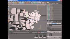 Logo transformation (Transformers style) tutorial with CINEMA 4D R12