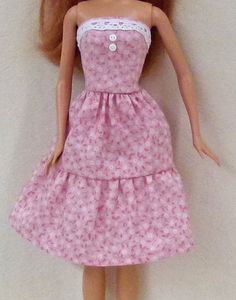Fashion doll handmade clothes dress fits 11.5 by GrizzlyCreek