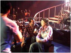 Entrevistado antes del concierto  -  Gira de Amor y Desamor en Málaga