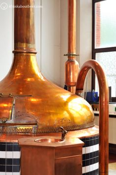 Copper kettle and pipes