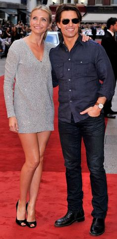 NO SPARKS BETWEEN TOM CRUISE AND CAMERON DIAZ