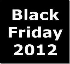 Black Friday info and shopping strategies.