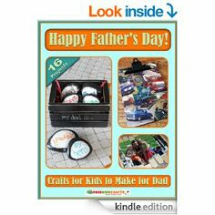 Happy Father's Day! Crafts for Kids to Make for Dad --- http://www.amazon.com/Happy-Fathers-Crafts-Kids-Make-ebook/dp/B00KDPJXZK/ref=sr_1_164/?tag=triniversalne-20